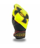 UNDER ARMOUR CHALLENGE YOUTH Soccer Goalkeeper GK Gloves 1293143-731 Yel... - $24.74