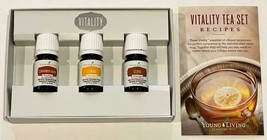 New Young Living Essential Oils Vitality Tea Set Cinnamon Bark Lemon Clo... - $59.35