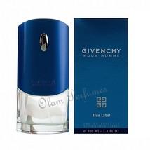 Givenchy Blue Label Pour Homme Eau de Toilette Spray 3.3oz 100ml * New i... - $53.89
