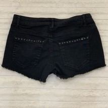 Forever 21 Jean Shorts Black Distressed Size 25 or 0 Cut Off - $12.34