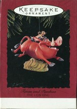 Disney Hallmark Keepsake Ornament - Timon And Pumbaa - The Lion King Chr... - $4.94