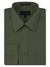 Men's Classic Fit Long Sleeve Wrinkle Resistant Button Down Dress Shirt 3XL image 1