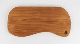 Loyal Adams Teak Sono Kitchen Peanut Wooden Serving Chopping Cutting Bread Board image 2