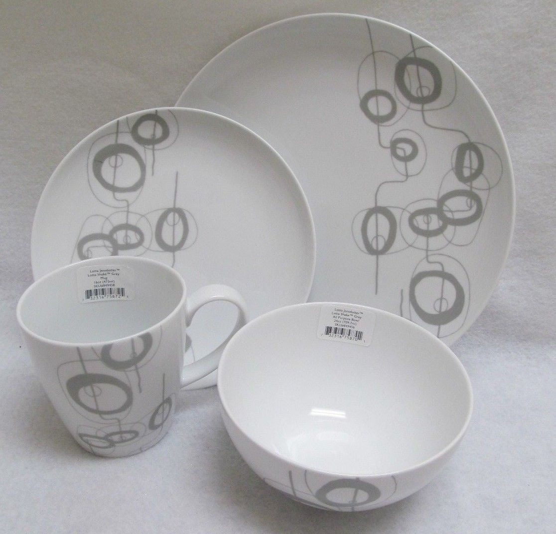 Primary image for Dansk Lotta Shake Jansodotter 4 Piece Place Setting
