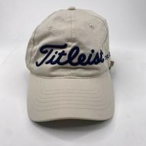 Titleist Golf FJ Pro V1 Adult Beige Footjoy Adjustable Baseball Trucker ... - $19.77