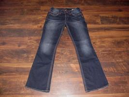 Silver jeans size 28 x 32 Women's SUKI BOOTCUT mid rise thick stitch dar... - $37.99
