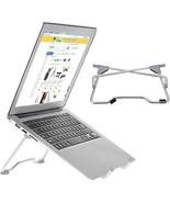 Uniwish Laptop Stand Portable Adjustable Aluminum Desktop Tray Ergonomi... - $24.14