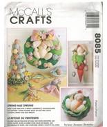 8085 non Découpé Mccalls Artisanat de Couture Gabarit Printemps Centerpi... - $6.91