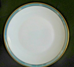 "Rosenthal Gala Blue Form 2000 7 3/4"" Salad Plate Mid Century Loewy - $18.80"