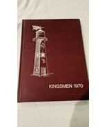 1970 THE KINGSMEN YEARBOOK THE KING SCHOOL STAMFORD, CONNECTICUT  - $24.75