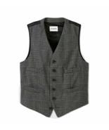 XXL XXlarge Goodfellow & Co Men's Plaid Standard Fit Tailored Suit Vest ... - $19.60