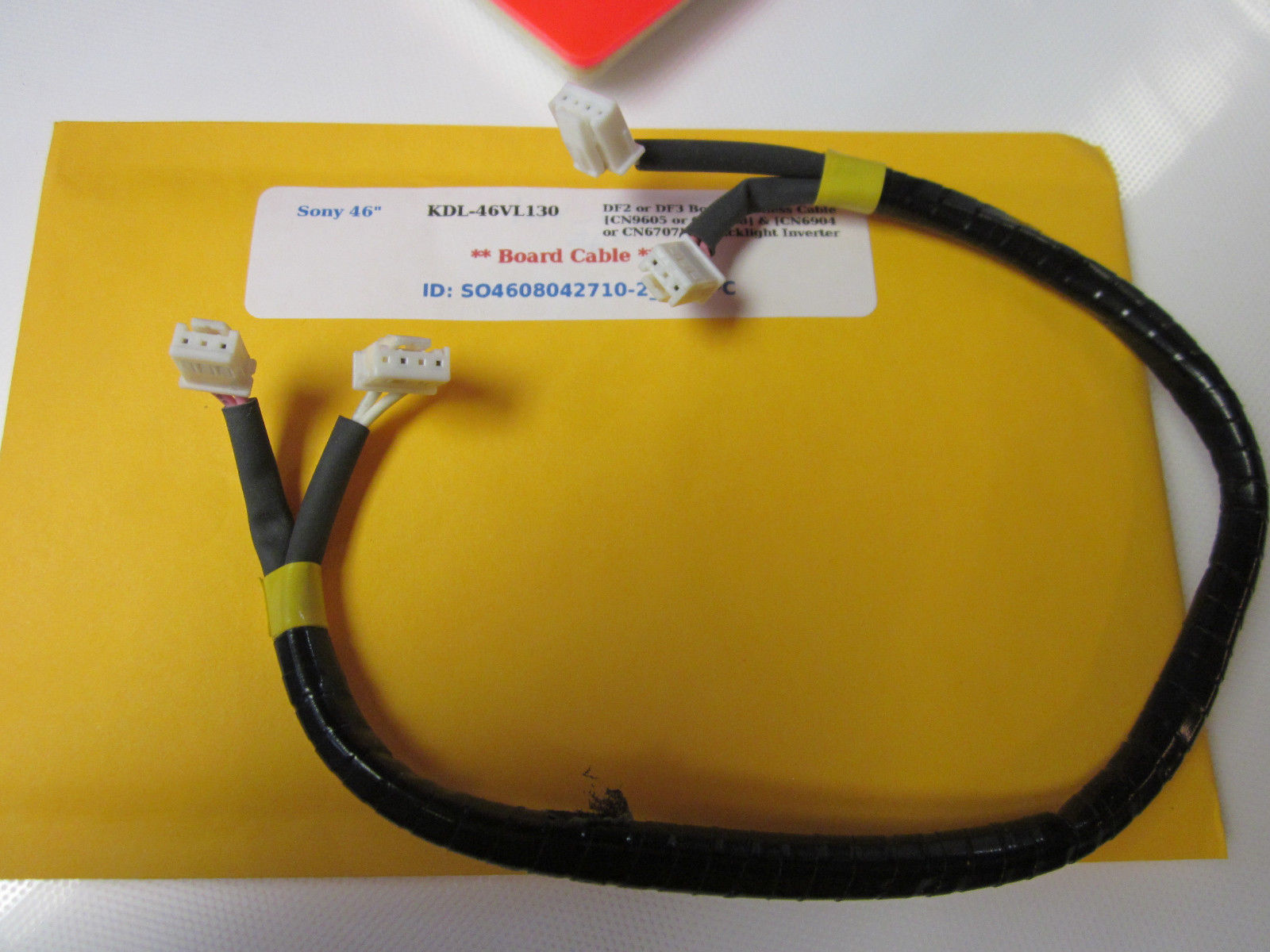 Primary image for Sony KDL-46VL130 DF2 or DF3 Board Harness Cable [CN9605 or CN6708] & [CN6904 or