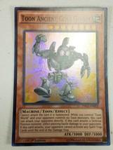 Yu-gi-oh! Trading Card Game - Toon Ancient Gear Golem - Super Rare - 1st Ed. - $2.00