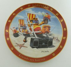 A Day With Garfield Collector Plate Friends are Forever by Jim Davis Dan... - $14.73
