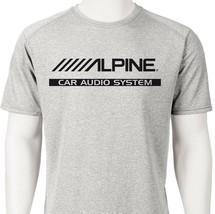 Alpine Car Audio Dri Fit graphic T shirt moisture wick SPF active wear Sun Shirt image 2