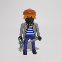Playmobil Thief Figure 4507 Special Release 1994 Hard To Find - $19.79