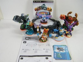 Playstation 3 Skylanders Giants PS3 Game, Portal, 7 figures Granite Cru... - $14.80