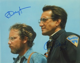 ROY SCHEIDER & RICHARD DREYFUSS SIGNED Photo x2 - Jaws  w/coa - $229.00