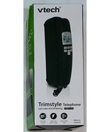 NEW VTECH TRIMSTYLE TELEPHONE BLACK WITH CALLER ID / CALL WAITING - MODE... - $19.95