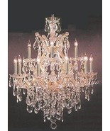 Chandelier Crystal Lighting Chandeliers - Great for the Dining Room, Foy... - $406.70
