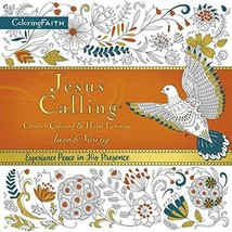 Jesus Calling Adult Coloring Book: Creative Coloring and Hand Lettering [Paperba image 3