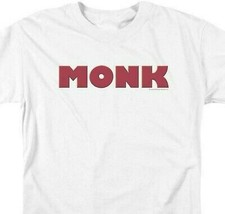 Monk Logo t-shirt American comedy drama detective series graphic tee NBC351 image 2