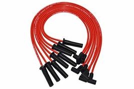 A-Team Performance 8.0 mm Double-Layer Red Silicone Spark Plug Wires BBC Big Blo