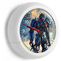 Transformers Autobots Optimus Prime Truck Wall Clock Bedroom Man Cave Room Decor - $23.39