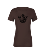 Black Super Hero - Cocoa T Shirt - $22.99+