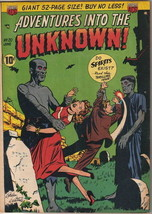 Adventures Into The Unknown Comic Book #20, ACG 1951 VERY GOOD+ - $81.19