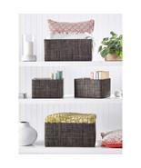 NEW  Mesa Storage Baskets, Set of 4 Model  1452540 **FREE SHIPPING** - $34.99