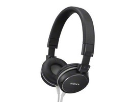 SONY Stereo Headphones Black MDR-ZX600 BRAND NEW - $91.19 CAD