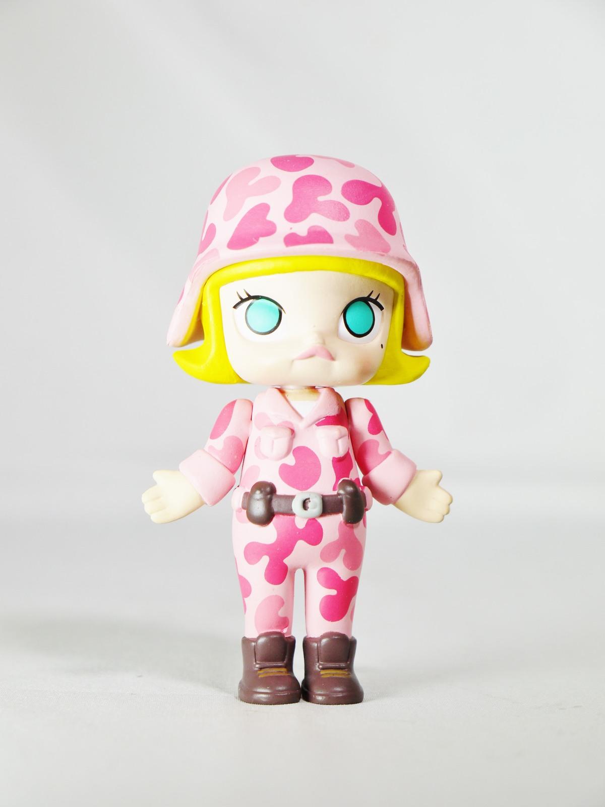 Kennyswork pop mart molly career solider pink   01