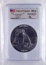 2014 ATB Arches NP 5 oz Silver First Strike John Mercanti PCGS Graded MS... - $395.99