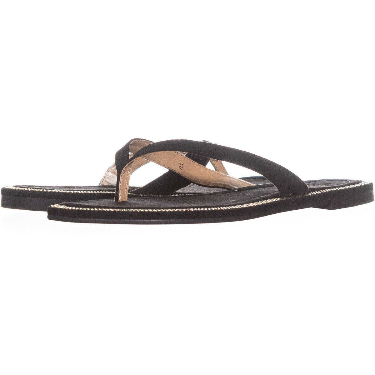 Primary image for Thalia Sodi Beda Flat Flip Flop Sandals 202, Black, 7 US