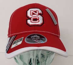 Adidas North Carolina State Wolf-Pack Red, Size S/M, Curved Hat - $12.64