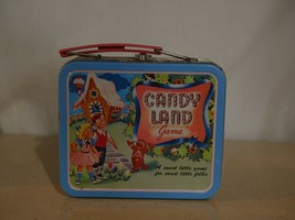 Candy Land Game Lunch Box Tin 1998 Hasbro  - $19.80