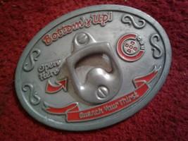Cincinnati Reds Belt Buckle With Bottle Opener - $8.66