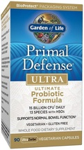 Garden of Life Whole Food Probiotic Supplement - Primal Defense Ultra Ul... - $129.45