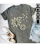Owl Dandelion Ladies T-Shirt Sport Grey Cotton S-3XL - $19.75+