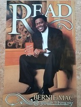Bernie Mac Library READ Poster Laminated Armed and Dangerous book 2003 - $47.49