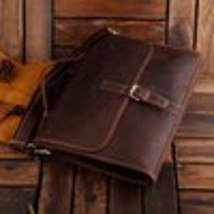 Sale, Classic Leather Messenger, Satchel Bag, Leather Laptop Bag image 1