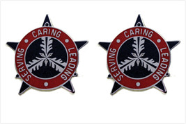 Genuine U.S. Army Crest: 3RD Personnel Group (Serving Caring Leading) - $18.79