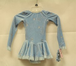 Mondor Model 2739 Born to Skate Skating Dress - Iced Blue Size Adult Small - $105.00