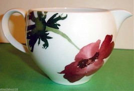 Wedgwood The Painted Garden Creamer Milk Jug Floral Motif Made In England New - $14.90