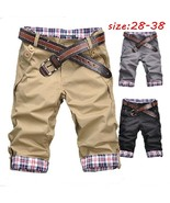 Summer Fashion Slim Men's Short Pants Causual Candy-colored Comfort High... - $23.46