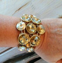 Chunky Rivoli Demi-Parure Bracelet w/ Earrings image 4