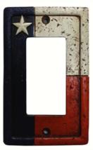 Cowgirl Kim Texas Flag Single Switch Rocker Plate Cover - $11.00