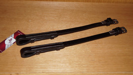 "Bobby's Bridle Cheek Pieces 1/2"" x 11""  HOOK/ST... - $25.00"