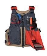 Onyx Kayak Fishing Vest - Adult Universal - Tan/Grey - $62.69